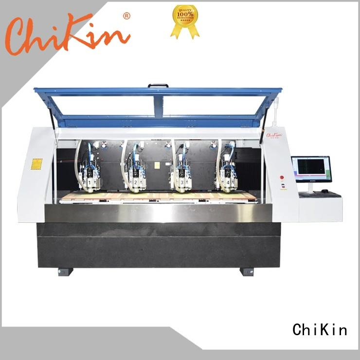 ChiKin high speed cnc router for pcb spindle over-heat protection pcb board making