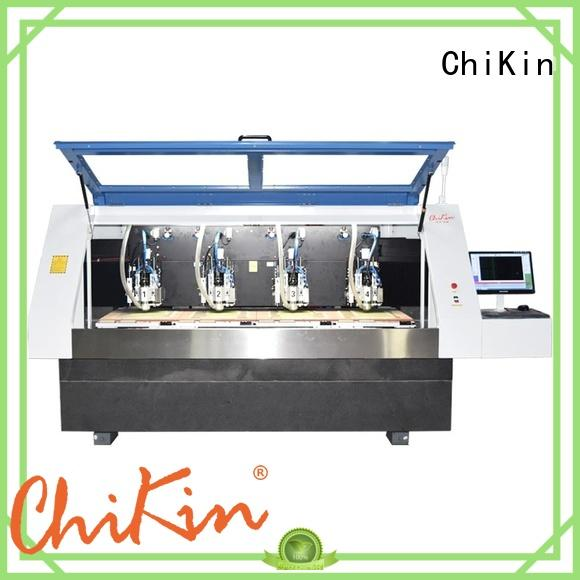 ChiKin professional cnc router pcb routing spindle over-heat protection pcb board making