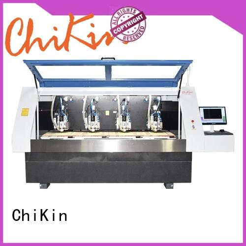 ChiKin Perfect pcb routing machine spindle over-heat protection for processing various materials
