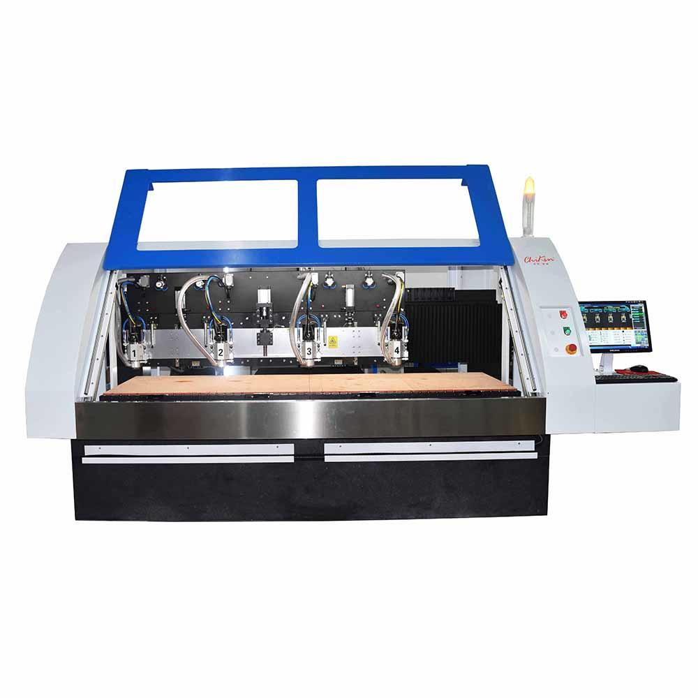 CK-04R CNC PCB Drilling and Routing Machine