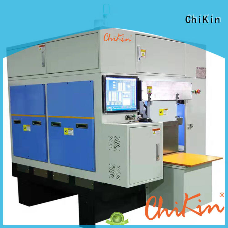 ChiKin machine greatly for improving the product quality
