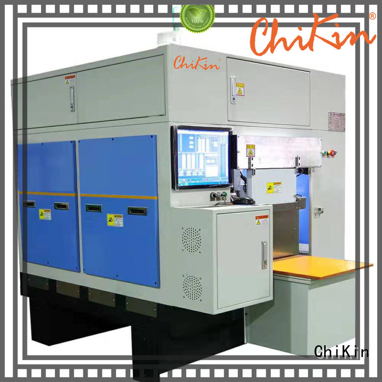 ChiKin automatic v scoring machine greatly for improving the product quality