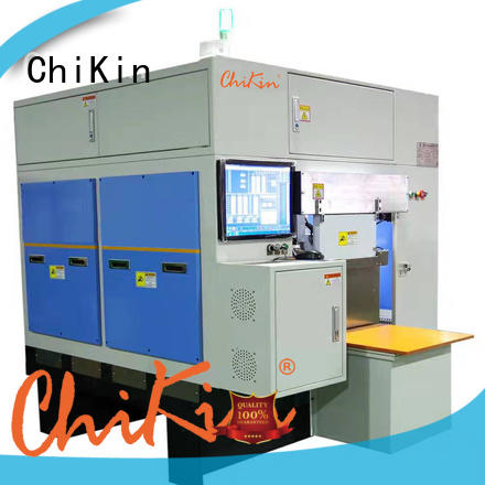 ChiKin cnc greatly for improving the product quality