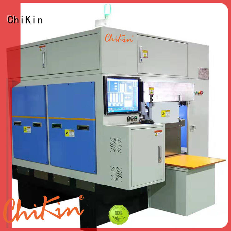 ChiKin automatic v scoring machine greatly for improving system performance
